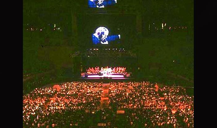 Concierto Frank Sinatra en Barcelona 1992