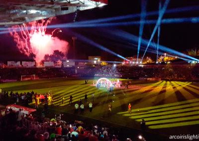 El Girona F.C. celebra el ascenso a primera, 2017